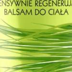 Eveline Cosmetics INTENSYWNIE REGENERUJĄCY BALSAM DO CIAŁA TRAWA CYTRYNOWA